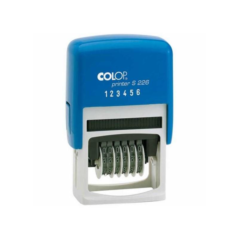 Timbro Numeratore autoinchiostrante Printer S 226