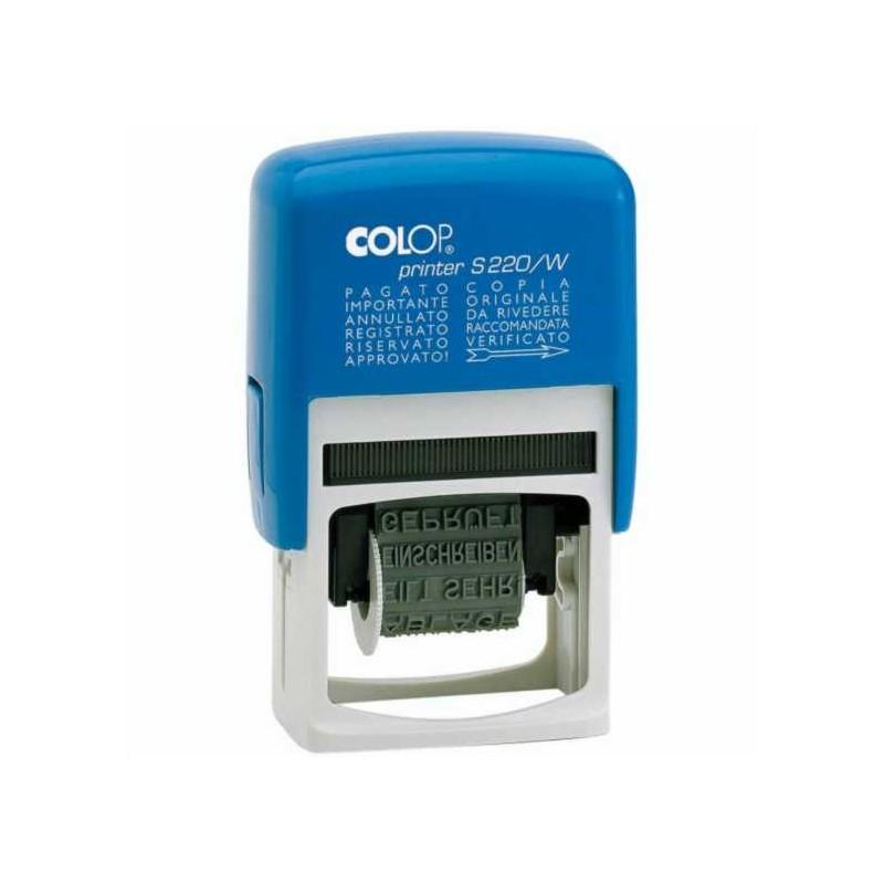 Timbro Autoinchiostrante Polinomi Printer S 220/W