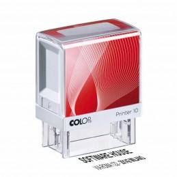 Timbro autoinchiostrante personalizzabile Printy 10