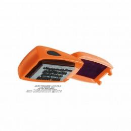 Simpatico e pratico timbro autoinchiostrante tascabile a forma di mouse