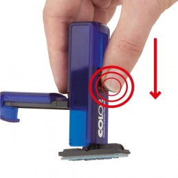 Timbro da taschino basta una leggera pressione per timbrare