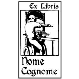 Esempio Ex Libris personalizzabile