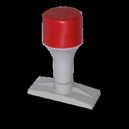 Timbro manuale mm 60x8 per 1, 2 righe