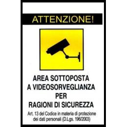 AREA SOTTOPOSTA A...