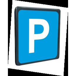Tabella stradale Parcheggio