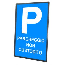 Tabella stradale Parcheggio...