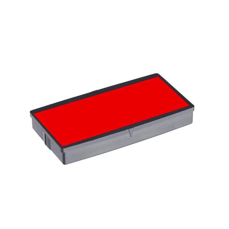 Tampone cuscinetto rosso di ricambio per timbro autoinchiostrante