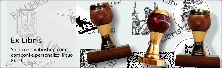 Ex Libris timbri da personalizzare